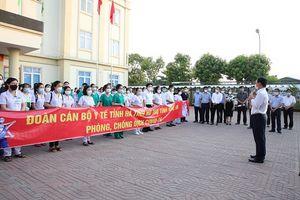 Hà Tĩnh cử 152 cán bộ y tế hỗ trợ tỉnh Nghệ An phòng, chống dịch