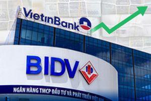 Sau Techcombank, đến lượt VietinBank vượt BIDV về vốn hóa