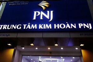 PNJ báo lãi tháng 10 tăng 35% so với cùng kì