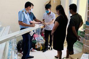 Vĩnh Phúc: Phát hiện 2 tấn nhôm giả mạo nhãn hiệu XINGFA