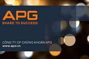APG phát hành cổ phiếu trả cổ tức, tăng vốn điều lệ