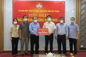 Tổng công ty Điện lực miền Bắc ủng hộ 1 tỷ đồng chung tay cùng Bắc Giang, Bắc Ninh phòng chống dịch Covid - 19