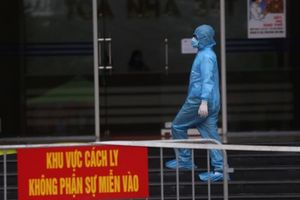 Video: Hà Nội phong tỏa chung cư có người nghi mắc Covid-19