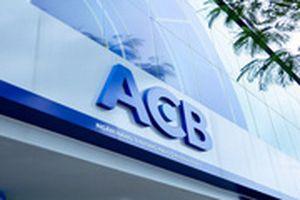ACB chuẩn bị trả cổ tức bằng cổ phiếu tỉ lệ 30%