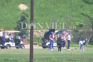 Sân Golf Kim Bảng (Hà Nam) tấp nập khách, trái Chỉ thị Thủ tướng