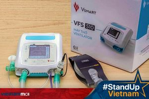 Bộ Y tế cấp số lưu hành cho máy thở của Vingroup