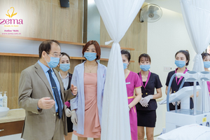 Nghiêm ngặt triển khai quy trình dịch tễ Zema Việt Nam trở thành địa chỉ làm đẹp an toàn mùa dịch