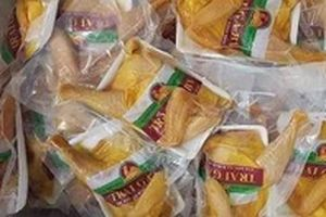 Gà ủ muối hoa tiêu siêu rẻ trên chợ mạng
