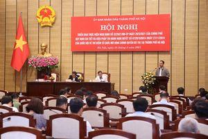 Thí điểm tổ chức mô hình chính quyền đô thị tại Hà Nội: Thận trọng, bài bản và ổn định