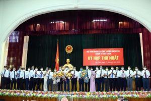 HĐND tỉnh Hà Tĩnh bầu chức danh Chủ tịch HĐND và Chủ tịch tỉnh Hà Tĩnh (nhiệm kỳ 2021 – 2026)