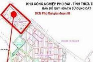 Tìm kiếm nhà đầu tư xây dụng dự án hạ tầng Khu Công nghiệp Phú Bài
