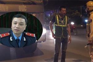 Xe tải Anh Đức 'thải bậy', tráo logo ở Hà Nội: Thanh tra giao thông nói gì?