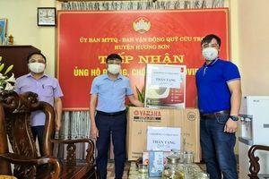 Hà Tĩnh: Những tấm lòng chung tay đẩy lùi đại dịch ở Hương Sơn