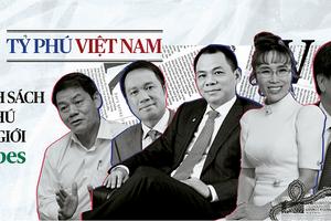 Các tỷ phú Việt: Những kỳ tích  trong năm 2020