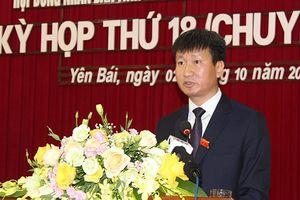 Ông Trần Huy Tuấn được bầu giữ chức Chủ tịch UBND tỉnh Yên Bái
