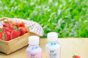 Ra mắt sữa chua uống thanh trùng từ sữa tươi nguyên chất của trang trại TH