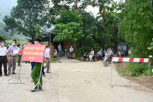 Huyện Chiêm Hóa thực hiện ''mục tiêu kép'' vừa phát triển kinh tế - xã hội, vừa phòng chống dịch COVID-19