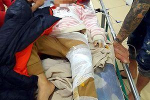 Hà Tĩnh: Sạt lở đất, hai cháu nhỏ bị thương