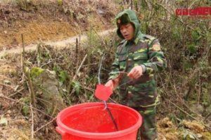 Lạnh âm độ, nước đóng băng, chiến sĩ biên phòng vẫn ngày đêm chốt chặn biên giới