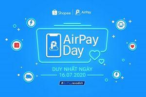 Khuyễn mãi khung giờ vàng khi thanh toán qua ví điện tử AirPay