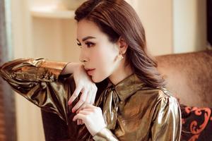 """Hoa hậu Hoàng Dung tiết lộ cách """"mix"""" đồ hiệu"""