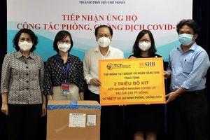 T&T Group và Ngân hàng SHB trao tặng TP.HCM 2 triệu bộ kit xét nghiệm nhanh COVID-19 trị giá 250 tỷ đồng