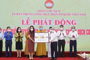Tập đoàn TH tiếp tục trao tặng 500.000 sản phẩm tốt cho sức khỏe, góp sức chống dịch Covid-19