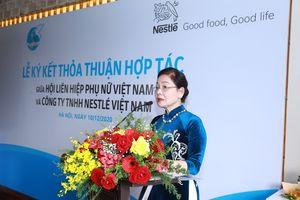 Nestlé hợp tác thúc đẩy quyền năng phụ nữ và bình đẳng giới