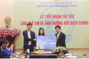 Chiến dịch bạn khỏe mạnh, Việt Nam khỏe mạnh chạm đích với món quà ý nghĩa trao tặng trẻ em trong đại dịch