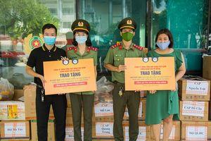 DONA Việt Nam - SAPO Bakery - KUN Bakery: Đồng hành cùng Công an quận Hà Đông đẩy lùi dịch Covid-19