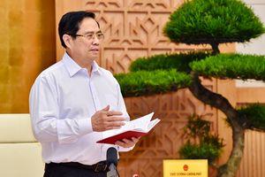 Thủ tướng Phạm Minh Chính: Phòng, chống dịch COVID-19 với tinh thần quyết liệt hơn, mạnh mẽ hơn, đoàn kết hơn