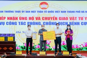 T&T Group trao tặng Hà Nội 1 triệu kit xét nghiệm PCR Covid-19 trị giá 162 tỷ đồng