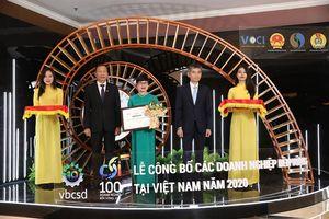 BVSC được vinh danh trong Top 100 doanh nghiệp phát triển bền vững 2020