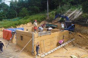 Tuyên Quang: Khôi phục nhà trình tường của đồng bào Mông huyện Lâm Bình