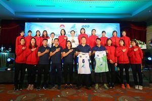 Đội bóng chuyền nữ Bamboo Airways Vĩnh Phúc ra mắt, đặt mục tiêu lọt top 8 đội mạnh quốc gia