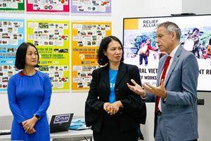 Khởi động gói cứu trợ trị giá 55 tỉ đồng hỗ trợ miền Trung Việt Nam