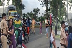 Video: Phẫn nộ hình ảnh nam thanh niên đánh CSGT tới tấp ở TP.HCM
