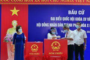 TP Đà Nẵng: 526 đơn vị bầu cử đồng loạt tiến hành bỏ phiếu