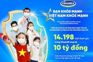 Chiến dịch công đồng của Vinamilk đạt những kết quả tích cực trong chuỗi hoạt động đầu tiên triển khai