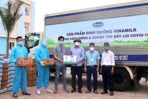 Vinamilk dành 2 triệu sản phẩm hỗ trợ cộng đồng, tuyến đầu chống dịch