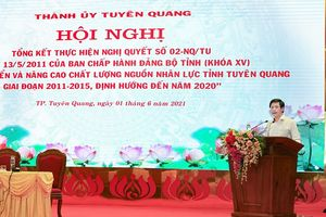 Thành ủy Tuyên Quang: 10 năm thực hiện Nghị quyết số 02-NQ/TU ngày 13/5/2011 của BCH Đảng bộ tỉnh ( khóa XV)