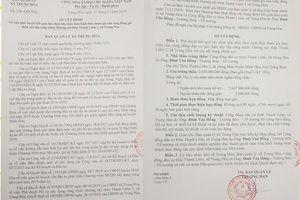 Quảng Bình: Là trưởng thôn nên được trúng thầu!