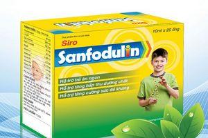 Xử phạt đơn vị kinh doanh sản phẩm Sanfodulin+ 84 triệu đồng