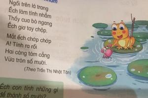 NXB Giáo dục Việt Nam chỉnh sửa 'sạn' trong 4 cuốn Tiếng Việt 1 ra sao?