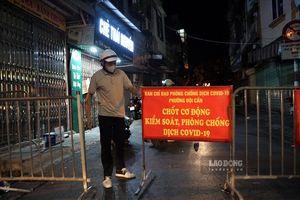 Quận Ba Đình (Hà Nội): Tạm dừng hoạt động chợ Ngọc Hà do tiểu thương dương tính SARS-CoV-2