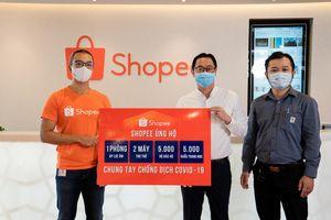 Chung tay đẩy lùi dịch bệnh COVID-19 Shopee ủng hộ 3 tỷ đồng