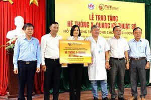 Tập đoàn T&T Group tặng hệ thống X-Quang kỹ thuật số hỗ trợ huyện Thăng Bình (tỉnh Quảng Nam)