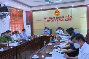 Phú Thọ: Huyện Thanh Sơn thực hiện tốt công tác phòng, chống dịch Covid - 19