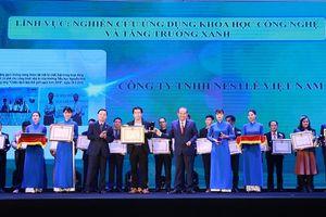 Nestlé Việt Nam nhận Giải thưởng Môi trường Việt Nam