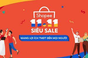 Shopee khởi động sự kiện 11/11 siêu Sale